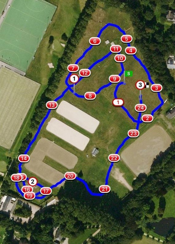 Eventing parcours